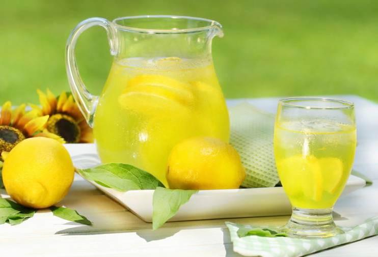Вода мед лимон